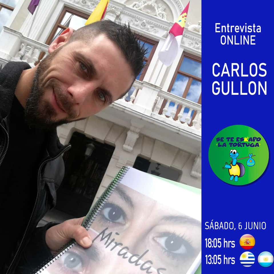 Entrevista Radio en La Nueva 87.9 Fm - Se Te EsKapo La Tortuga - Carlos Gullón Calvo